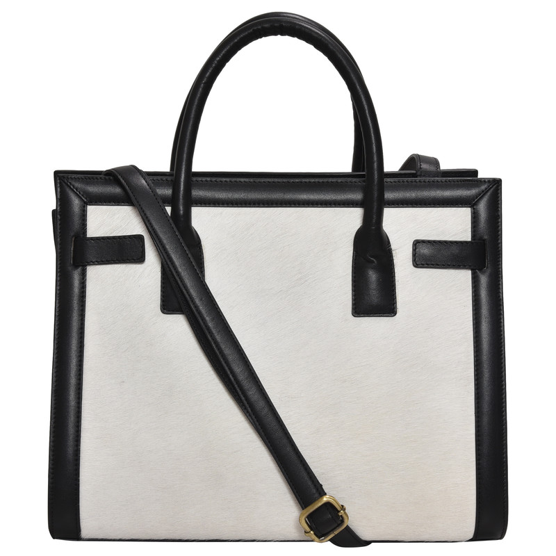Black & White Handbag & Shoulder Bag