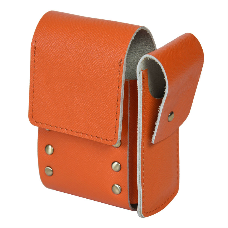 Orange Pouch Holder