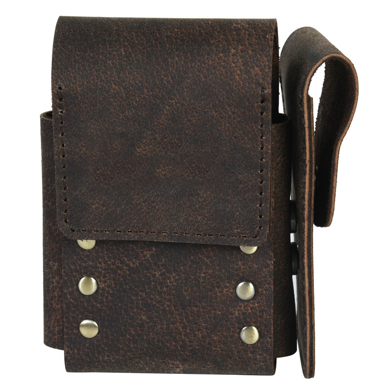 Brown Pouch Holder