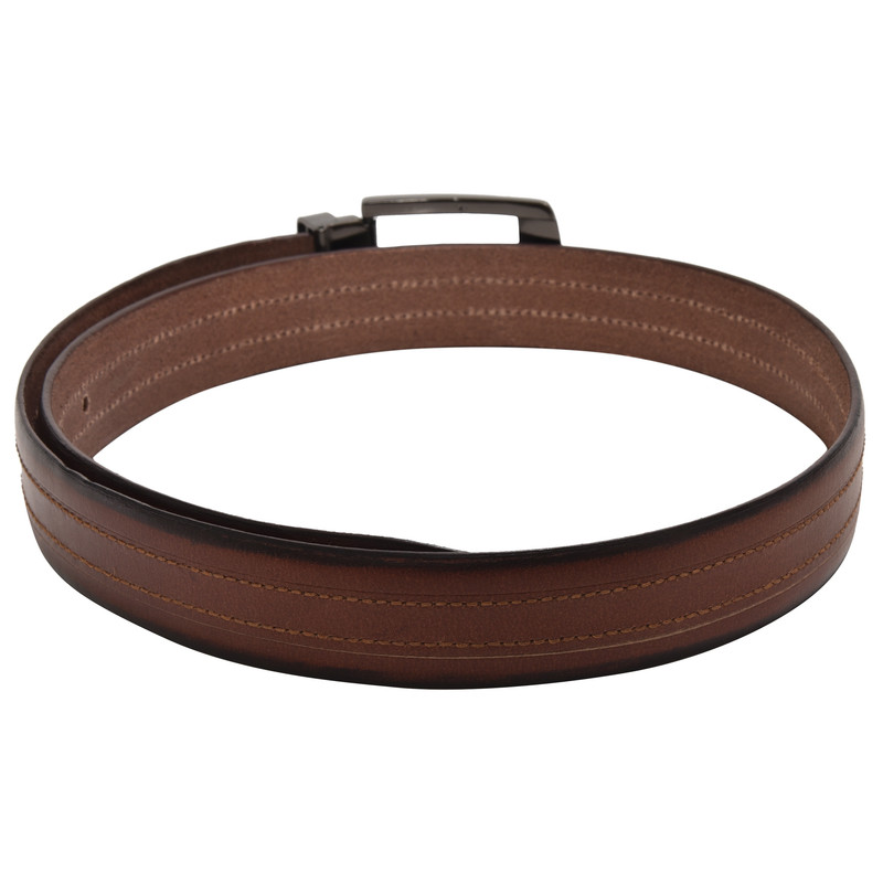 Brown and Black Belt Pouche
