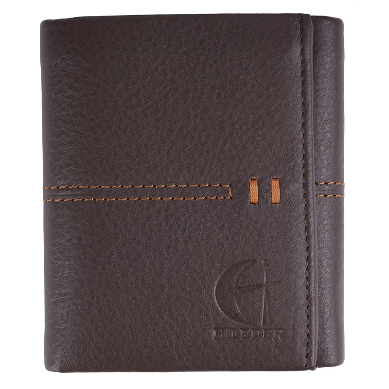 Trifold Grey Wallet
