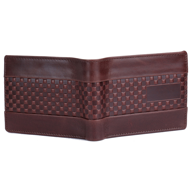 Square Brown Wallet